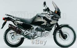 Gpr Pot D Echappement Homologue Furore Noir Honda Africa Twin Xrv 2003 03