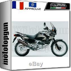 Gpr Pot D Echappement Homologue Trioval Honda Africa Twin Xrv 2003 03