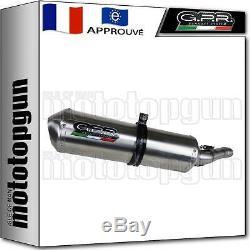 Gpr Pot Echappement Approuve + Tube Sa Honda Africa Twin 750 Rd07 Xrv 75 1997 97
