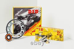 Kit chaine DID Honda XRV 750 Africa Twin 750cc 90-93 (16-46-124)
