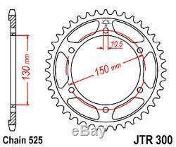 Kit chaine Honda XRV650 Africa Twin 88-90 16/49 525 Oring hyper renforcée
