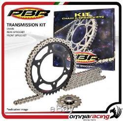 Kit chaine + couronne + pignon PBR EK Honda XRV750 AFRICA TWIN RD07 19932003