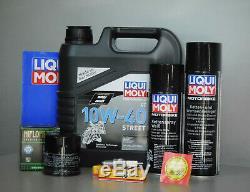 Kit de Maintenance Honda XRV 750 Africa Twin Huile, Filtre à Huile Bougie