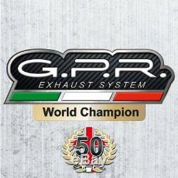 Ligne Complete Gpr Ghisa Honda Africa Twin Xrv 750 1993/03