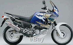 MIVV Pot D Echappement Hom Oval Titanium Honda Xrv 750 Africa Twin 1996 96