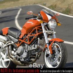 Magazi rétroviseur modèle VIPER orange pour Honda xrv 750 africa twin VF 1000