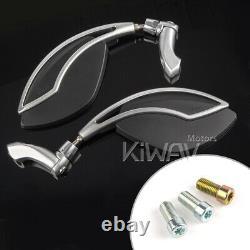 Orca folding rétros M10 pr Honda XRV 750 africa twin VF 1000 360° adjustment