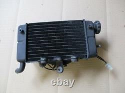 Radiateur d'eau droit + ventillateur Honda 750 Africa twin XRV RD07