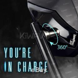 Rétroviseur Venom noir universél 10mm pour Honda xrv 750 africa twin VF 1000