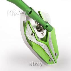 Rétroviseurs verts 10mm standard pour honda xrv 750 africa twin VF 1000