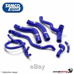 Samco kit durites de radiateur bleu Honda Africa Twin XRV750 RD04 L/M/N 1990