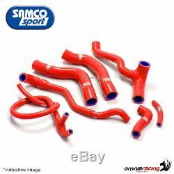 Samco kit durites de radiateur rouge Honda Africa Twin XRV750 RD04 L/M/N 1991