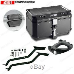 Set Givi Chassis + Coffre Outback OBKN58B Honda 750 XRV Africa Twin 1990-1992