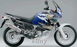 Silencieux Homologue Oval H. 024. Lx1 MIVV Honda Xrv 750 Africa Twin 2000 00