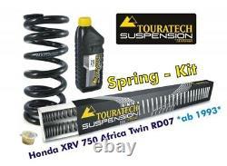 Touratech Progressive Ressorts Pour Fork Et Strut Honda XRV750 Africa Double Rd