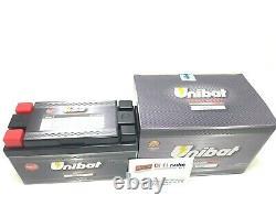 ULT2 Batterie UNIBAT Lithium Extra YB14-B2 Honda XRV Africa Twin 650 1988