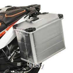 Valise Latérale aluminium 45l Honda Africa Twin XRV 650/ 750, NTV 650 Revere