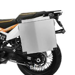 Valises laterales 40l-35l + kit 16mm pour Honda Africa Twin XRV 650/ 750