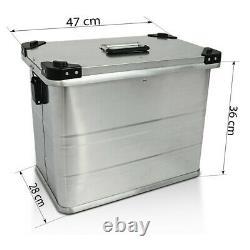 Valises laterales aluminium Gobi 45L pour Honda Africa Twin XRV 750 / 650 + kit